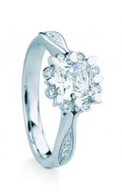 Maevona Scottish Wildflowers Engagement ring A059-SNO CU A7 product image