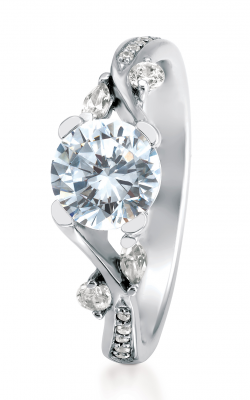 Maevona Scottish Wildflowers Engagement ring A080-TAN PV D8 product image