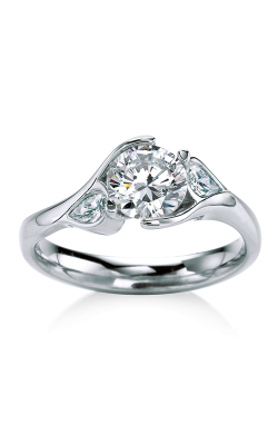 Maevona Scottish Wildflowers Engagement ring B007-POP D8 product image