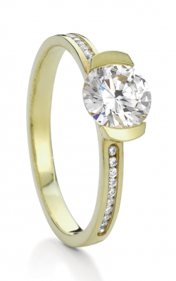 Maevona Scottish Islands Engagement Ring A051-CAV CH RD C8 product image