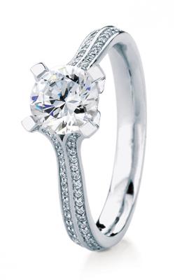 Maevona Scottish Islands Engagement ring A021-WES PAVE D8 product image