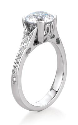 Maevona Scottish Islands Engagement ring A014-VAI PV RD E88 product image