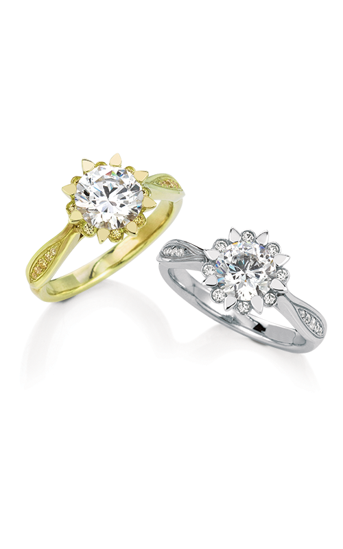 Maevona Scottish Wildflowers Engagement ring A059-SNO A8 product image