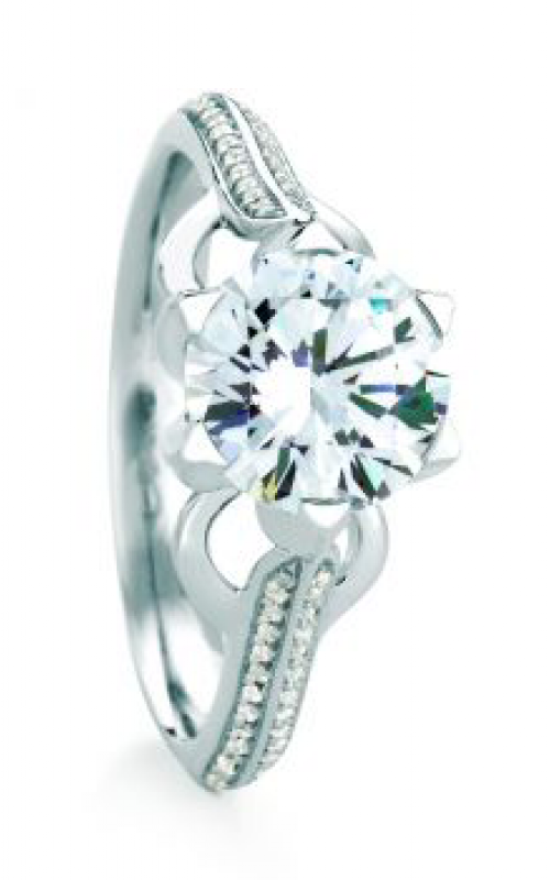 Maevona Scottish Towns Engagement ring A070-CAS RD PV D88 product image
