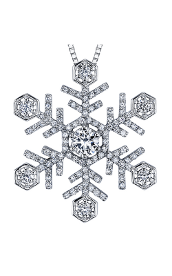 Maple Leaf Diamonds™ Winter Large Snowflake Pendant PP3624W/70C product image