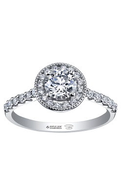 Maple Leaf Diamonds™ Spring Lily Halo Ring R30080WG/60-18 product image
