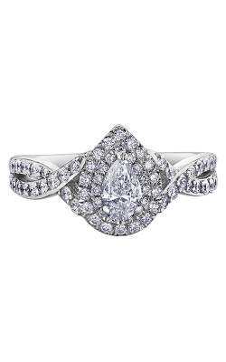 Maple Leaf Diamonds™ Tides of Love™ Ladies Engagement Ring R30472WG/100-18 product image
