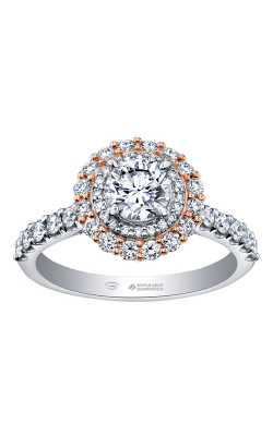 Maple Leaf Diamonds™ Spring Diamond Lily Petals Engagement Ring R30593WR/133-18 product image