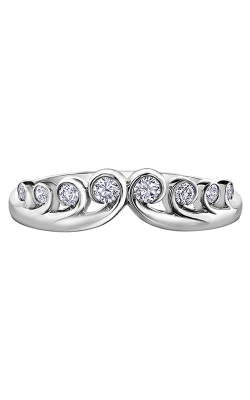 Maple Leaf Diamonds™ Tides Of Love™ Ladies Wedding Band R50L02WG/18 product image