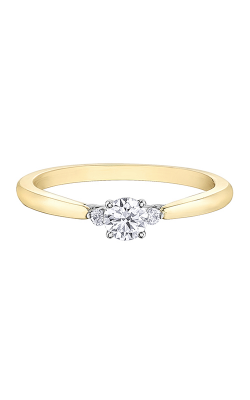 Maple Leaf Diamonds™ Tides Of Love™ Engagement Ring R31024YW/25-18 product image