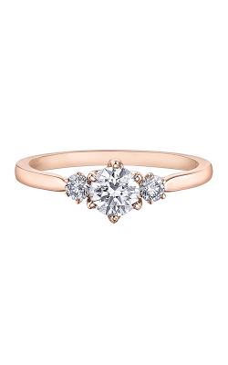 Maple Leaf Diamonds™ Eternal Flames™ Ladies Three Stone Engagement Ring R31022RG/65 product image