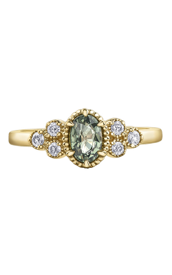 Maple Leaf Diamonds™ Green Sapphire Ladies Fashion Ring R4386 product image