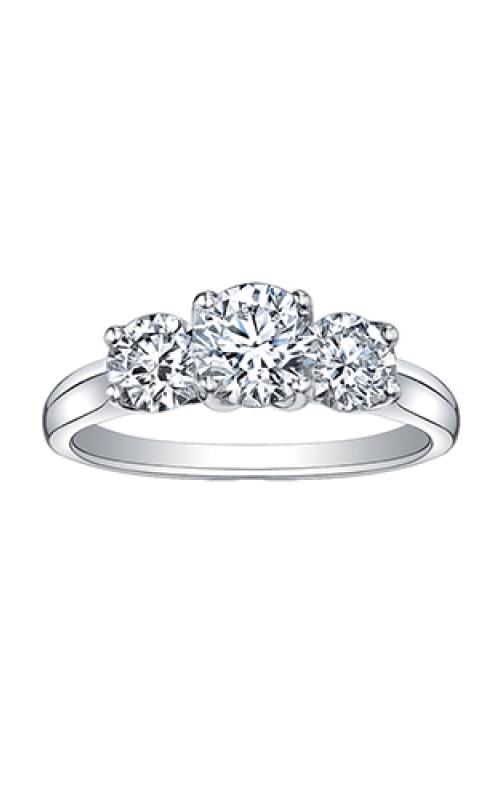 Maple Leaf Diamonds™ Eternal Flames™ Ladies Three Stone Engagement Ring R3342WG/200-18 product image