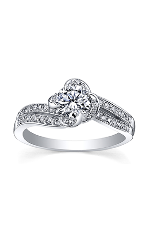 Maple Leaf Diamonds™ Wind's Embrace™ Ladies Engagement Ring R3871WG/50-18 product image