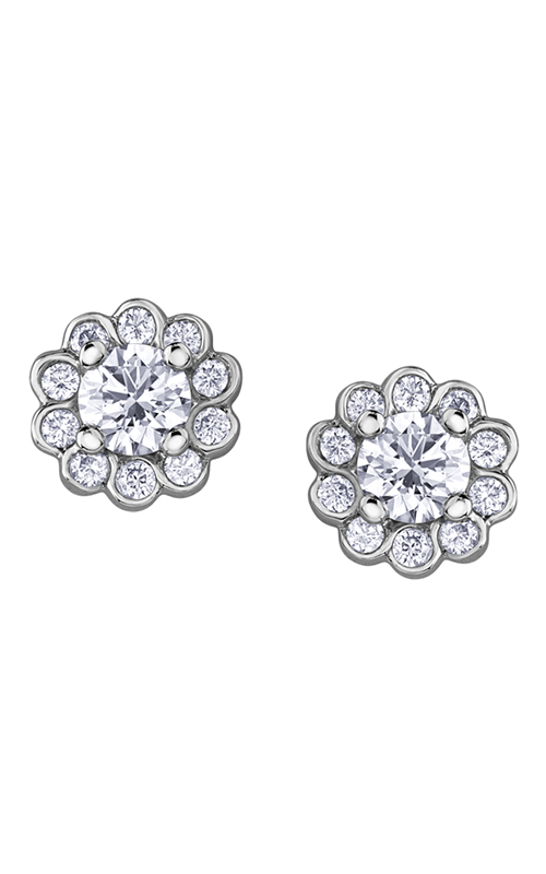 Maple Leaf Diamonds™ Tides of Love™ Earrings EE4015W/25 product image