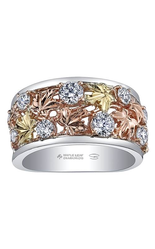 Maple Leaf Diamonds™ Autumn Falling Leaves Ring R52D38TR/100 product image