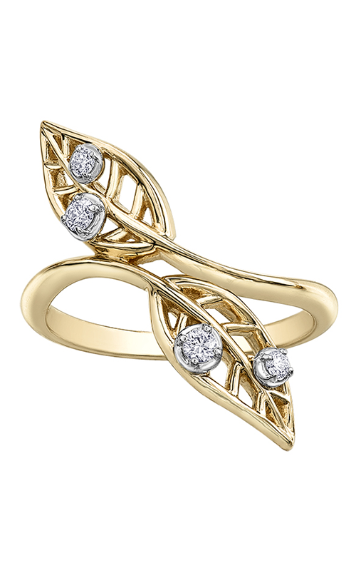 Maple Leaf Diamonds™ Willow Bypass Diamond Fashion Ring R52E86YW/12 product image