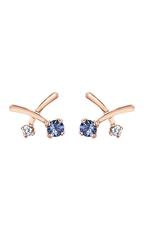 Maple Leaf Diamonds™ Eternal Flames™ Earrings EE4189RW product image