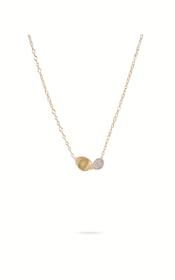 Marco Bicego Diamond Lunaria Necklace CB1965-B-YW product image