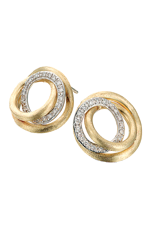 Marco Bicego Diamond Link Earrings OB1007-B-W product image