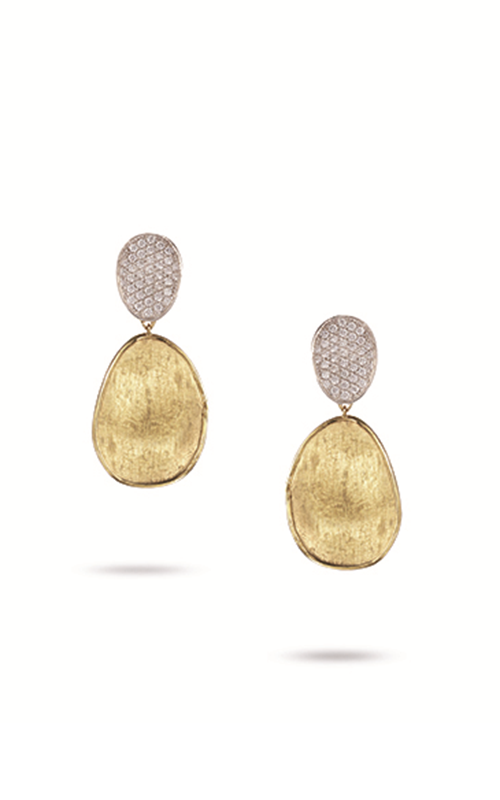 Marco Bicego Lunaria Diamond Earrings OB1432 B YW product image