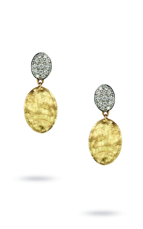 Marco Bicego Siviglia Diamond Earrings OB1289 B YW product image