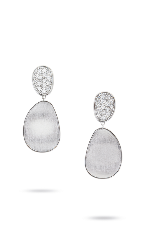 Marco Bicego Lunaria Earrings OB1432 B W product image
