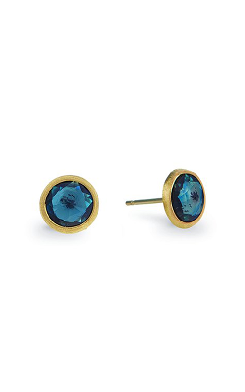 0dd8599b4c70f Marco Bicego Jaipur Color Earrings OB957 TPL01 Y 02 product image. Loading  zoom