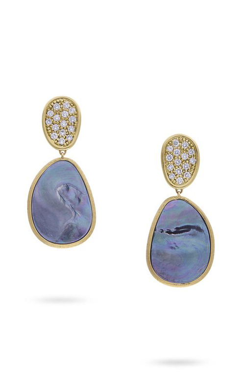 Marco Bicego Lunaria Mother of Pearl Earrings OB1403 B MPB Y product image