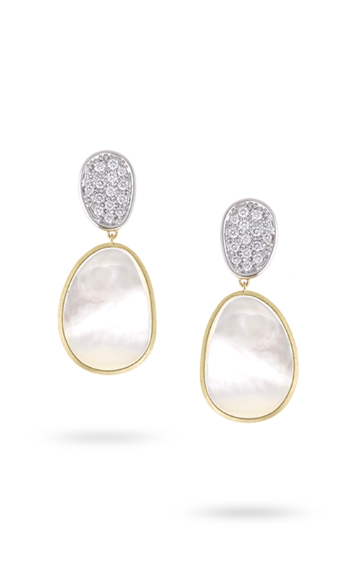 Marco Bicego Lunaria Mother of Pearl Earrings OB1403-B MPW Y product image