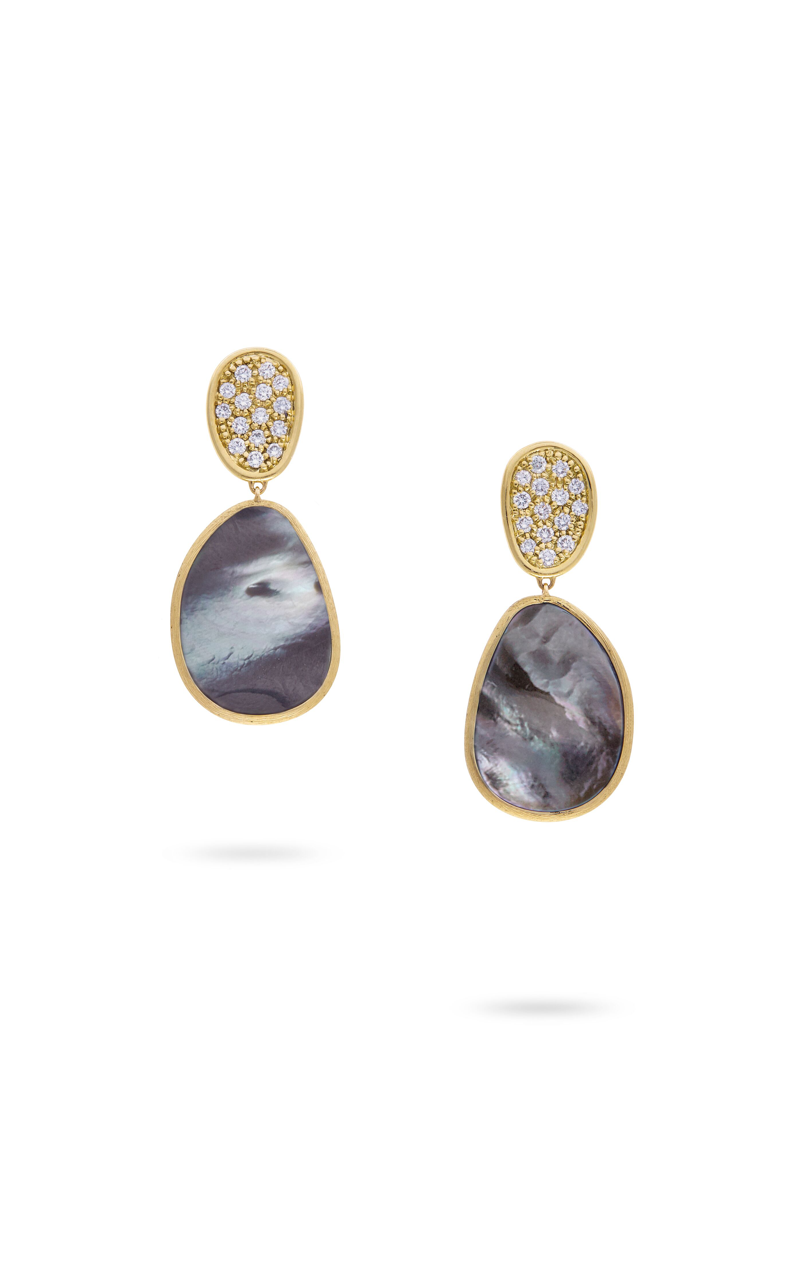 Marco Bicego Lunaria Mother of Pearl Earrings OB1403-B MPB Y product image