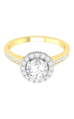 Martin Flyer Channel & Shared Prong Engagement ring CC08XSRDTTYZ-F-5.5RD product image