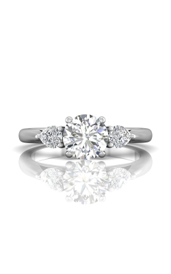 Martin Flyer FlyerFit Three Stone Engagement Ring CT03SPSQ-C-7.0RD product image