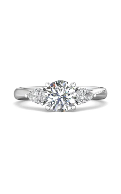 Martin Flyer Three Stone Engagement Ring CT03SPSQ-C-7.0RD product image