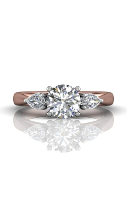 Martin Flyer Three Stone Engagement ring CT03SPSTTPQ-C-7.0RD product image