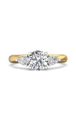 Martin Flyer Three Stone Engagement ring CT03SPSTTYQ-C-7.0RD product image