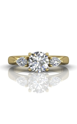 Martin Flyer Three Stone Engagement ring CT03SPSYQ-C-7.0RD product image