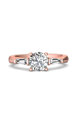 Martin Flyer Three Stone Engagement ring CT04XSTBPQ-C-7.0RD product image