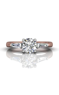 Martin Flyer Three Stone Engagement ring CT04XSTBTTPQ-C-7.0RD product image