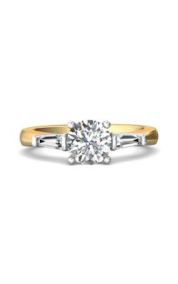 Martin Flyer Three Stone Engagement ring CT04XSTBTTYQ-C-7.0RD product image