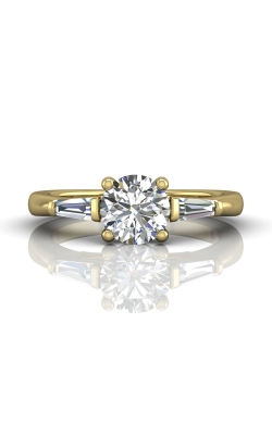Martin Flyer Three Stone Engagement ring CT04XSTBYQ-C-7.0RD product image