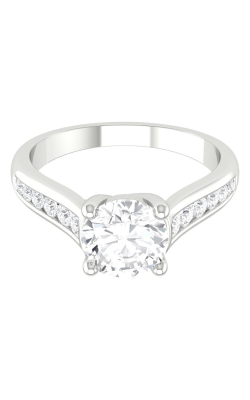Martin Flyer Channel & Shared Prong Engagement ring CTC01Q-D-6.5RD product image