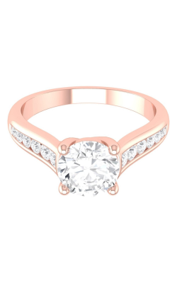 Martin Flyer Channel & Shared Prong Engagement ring CTC01PQ-C-6.5RD product image