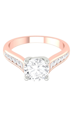 Martin Flyer Channel & Shared Prong Engagement ring CTC01TTPQ-C-6.5RD product image