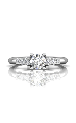 Martin Flyer Channel & Shared Prong Engagement ring CTSP01Q-F-5.5RD product image