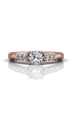 Martin Flyer Channel & Shared Prong Engagement ring CTSP01PQ-F-5.5RD product image