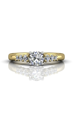 Martin Flyer FlyerFit Channel & Shared Prong Engagement Ring CTSP01TTYQ-D-5.5RD product image