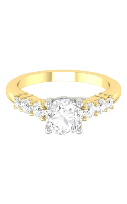 Martin Flyer Channel & Shared Prong Engagement ring CTSP01TTYZ-F-5.5RD product image