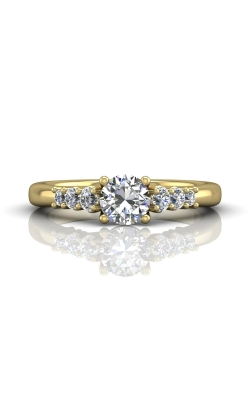 Martin Flyer Channel & Shared Prong Engagement ring CTSP01YZ-F-5.5RD product image