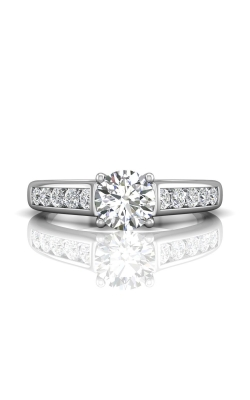 Martin Flyer Channel & Shared Prong Engagement ring DERC01SQ-D-6.5RD product image